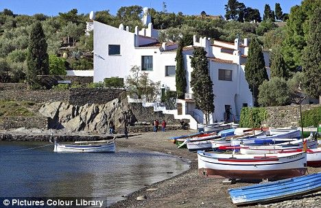 Salvadore Dali's house, Port Lligat, Spain