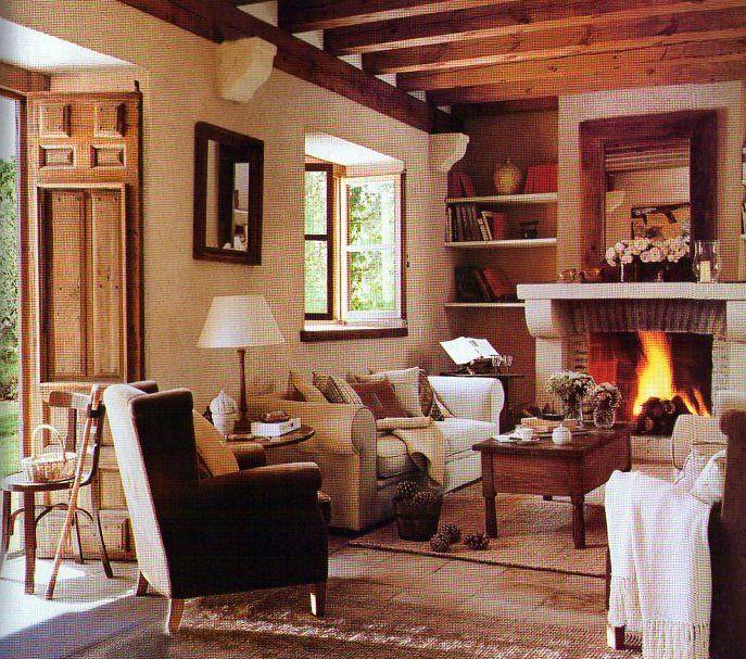 M s de 20 ideas incre bles sobre salones r sticos en pinterest sof r stico salas de estar - Salones rusticos pequenos ...