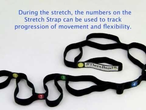 Thera Band Stretch Strap   Demo
