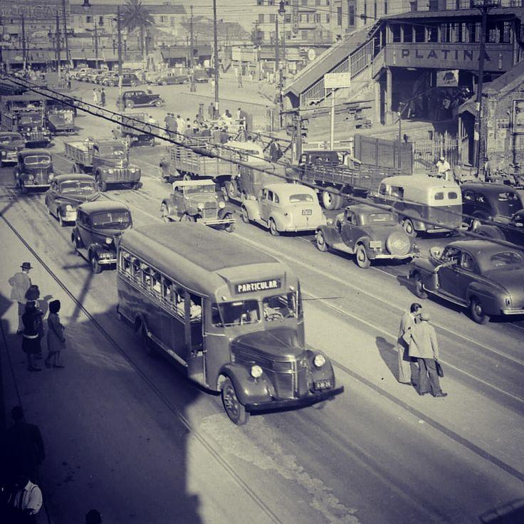 Sao Paulo in the 50's, Bras Area Brazil