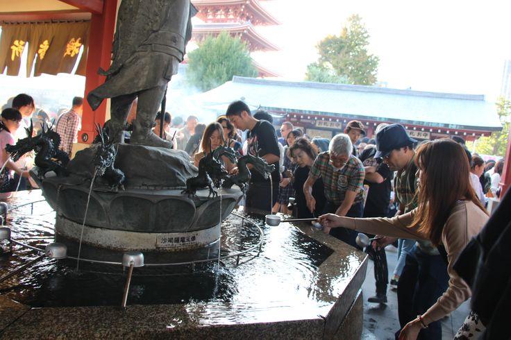 Shrine in Asakusa, Tokyo