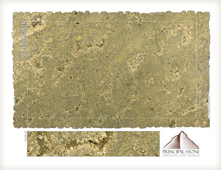 Seafoam Green Granite By Principal Stone Stone