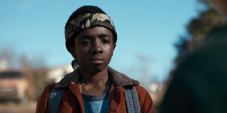 "Caleb McLaughlin as Lucas Sinclair in ""Stranger Things"""