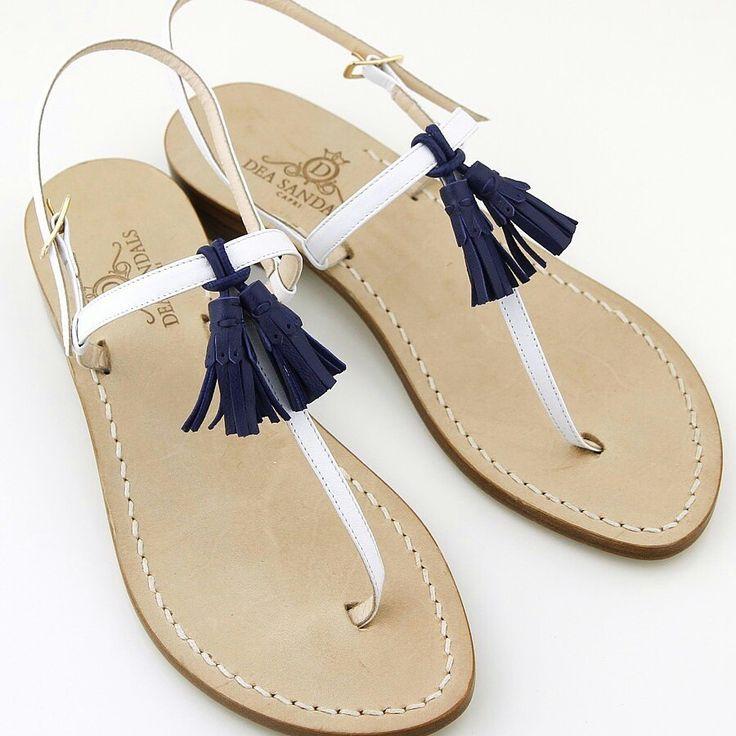 Capri sandals minimal look total chic.www.deasandals.com