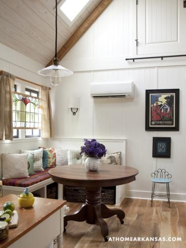 Woman Downsizes to 557 Sq. Ft. Tiny Cottage Photo