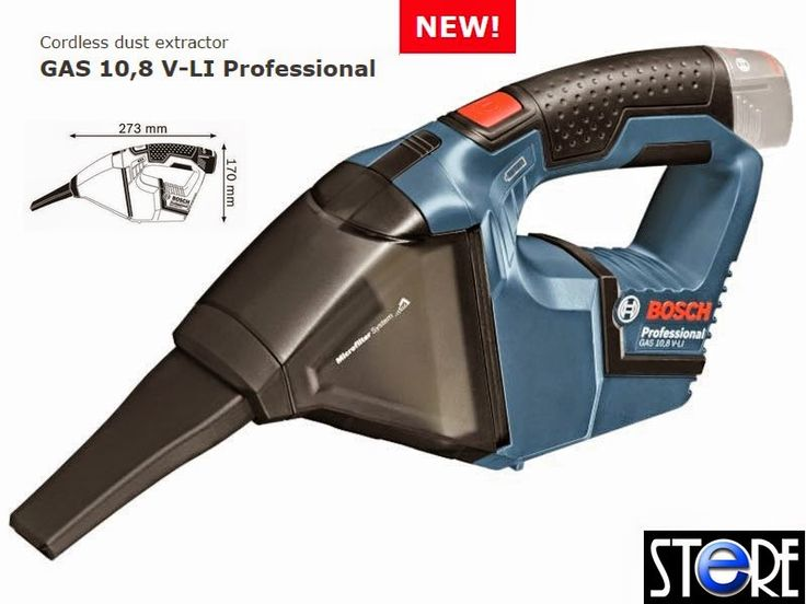 Inspirational Power Tools Singapore Bosch GAS V LI Professional Cordless Dust Ext