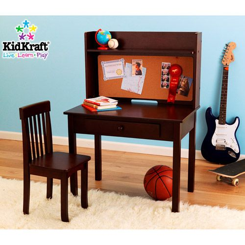 KidKraft - pinboard desk and chair set - Walmart.com