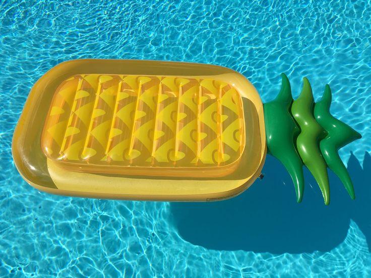 Uppblåsbar ananas  - Justchill.se