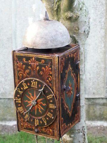 16e eeuwse miniatuur lantaarnklok , Zeer zeldzaam   Kapaza