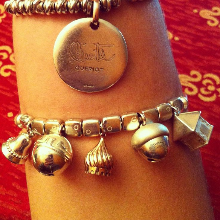 queriot civita charms campanelle sonagli monumenti bracciale gioielli