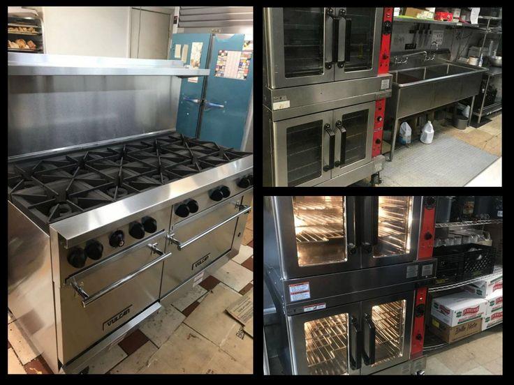 A Vulcan range and convection oven  https://www.culinarydepotinc.com/brands/vulcan  https://www.culinarydepotinc.com/commercial-ovens  https://www.culinarydepotinc.com/commercial-restaurant-ranges  #CulinaryDepot #Vulcan #RestaurantRange #ConvectionOven #CommercialKitchen #RestaurantEquipment #Cook #Bake #Roast