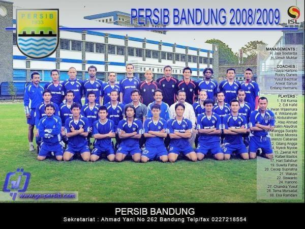 Skuad Persib Bandung 2008-2009