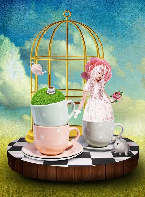 Kawaii Queen Hehalana Lolita by lapin-foufou.deviantart.com