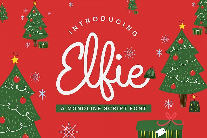 Fun New Christmas Monoline Script Font Instant Download For Personal And Commercial Use Affiliate Link Christmas Fonts Cool Fonts Unique Fonts