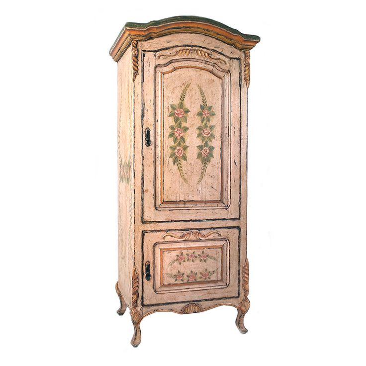 Antique French Flower Armoire