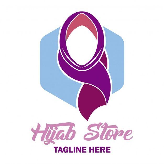 Logo Hijab Elegant Hijab Logo Design Podcast Hijab