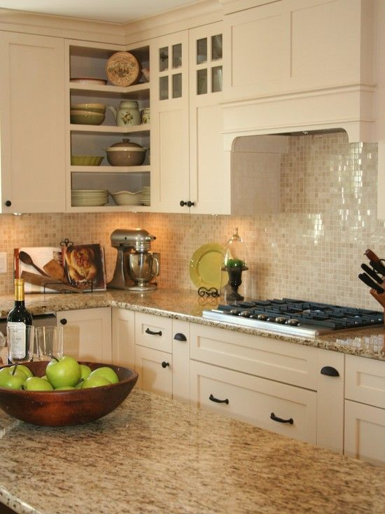 Giallo Ornamental Granite Design, Pictures, Remodel, Decor and Ideas. Love everything about this.