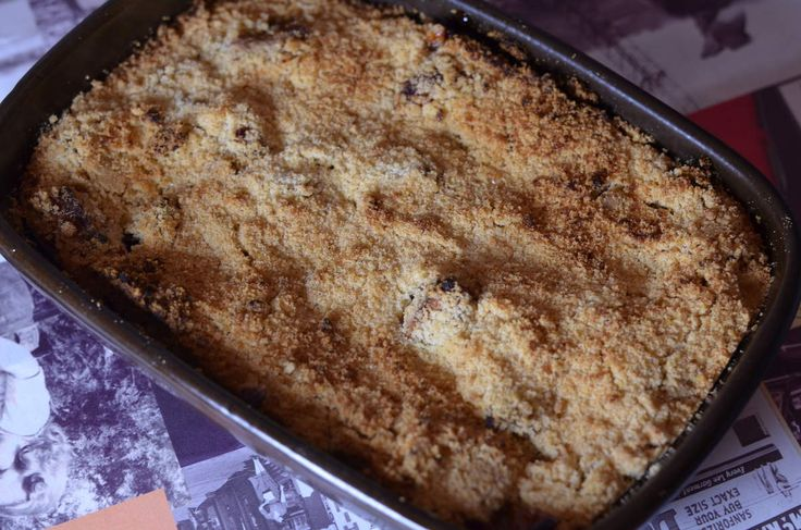 Apple crumble au beurre bordier  Photo maud dinettes etc