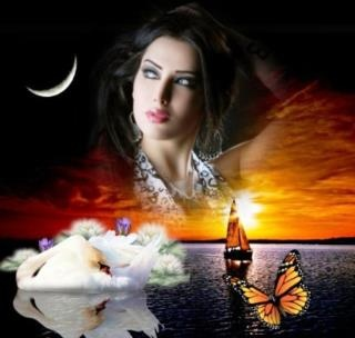 As is going to be night a dream meet the dreamer of the poetry!!!!