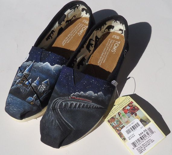 Harry Potter TOMS..!  What! (would you ever actually wear these?) ... I'd be too afraid to wear them out