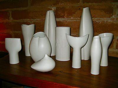 Set of 10 Vases by Tapio Wirkkala Rosenthal 1950's Op Art Modernist Mint | eBay