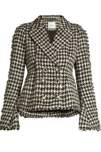 Marsha hounds tooth cotton blend jacket 220x330 What to wear to a Christening