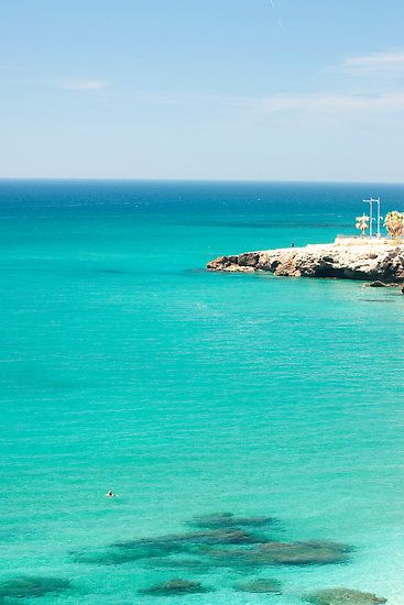 Taken in Nerja, Malaga, Southern Spain on a calm day.
