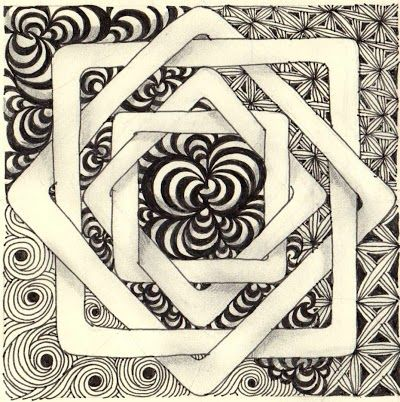By Laura Harms, Certified Zentangle Teacher