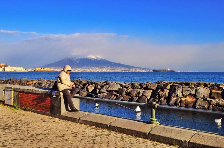 Quel freddo limpido che bacia Napoli | © Pescatori di Posillipo - Campania su Web