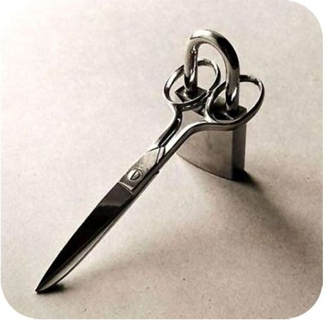 for mom- don't want your sewing scissors used for paper, wire, etc. Hahaha!