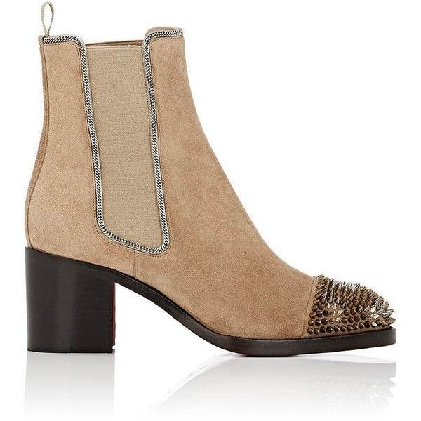 Christian Louboutin Womens Otaboo Suede Chelsea Boots