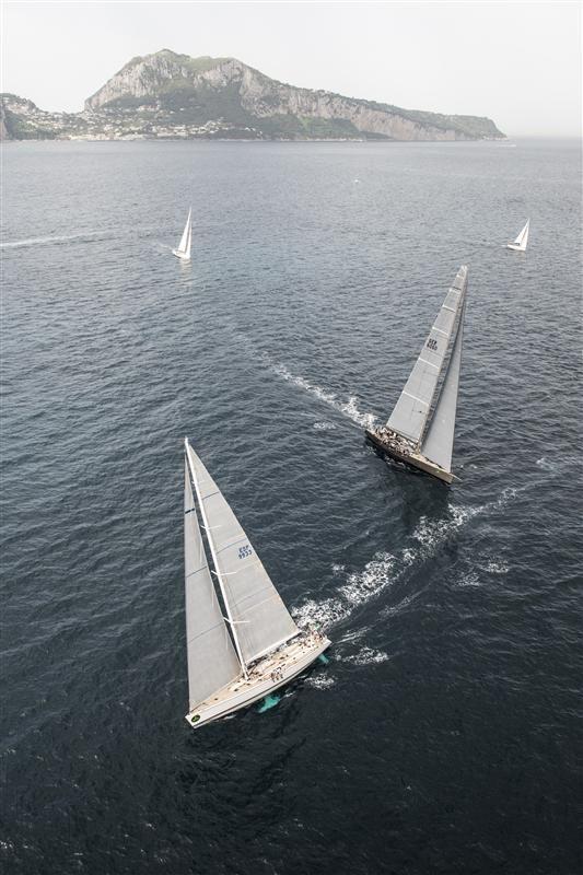 Rolex Capri Sailing Week - Volcano Race May 2013
