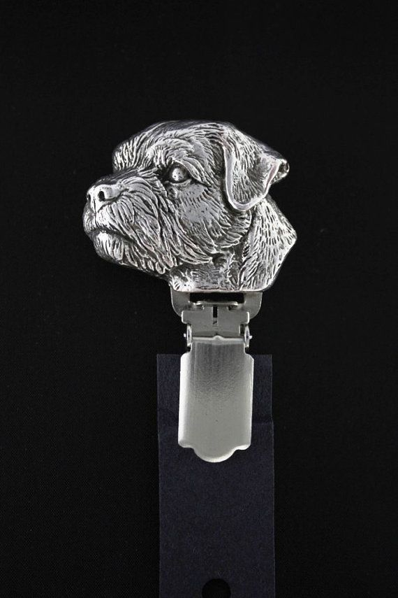 Border Terrier dog clipring dog show ring by ArtDogshopcenter