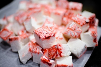Candy Cane Marshmallows | Recipe | Candy Canes, Canes and Marshmallows