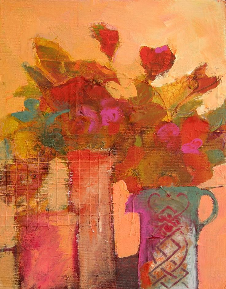 July Flowers...judy thorley