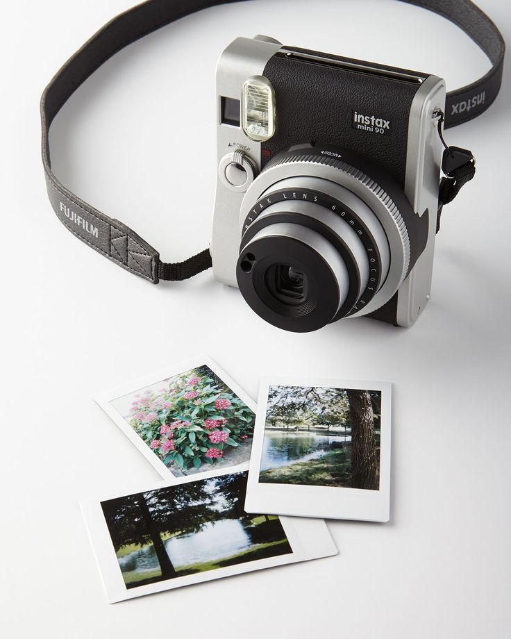 Fuji Instax Mini 90 Camera... I am obsessed and love taking it on trips with me.