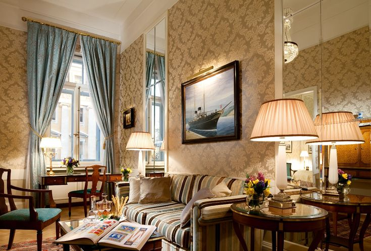 The Imperial Yacht Suite. Grand Hotel Europe.