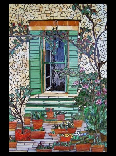 Garden Mosaic by andrea