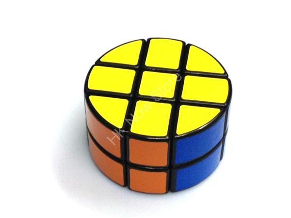 Round 3x3x2 Cube Black Body - Calvin's Puzzle, V-Cube, Meffert's Puzzle, Neocube, Twisty Puzzle online store