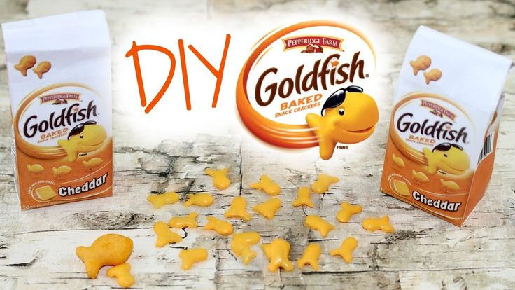 DIY Goldfish Crackers | American Girl Doll Crafts