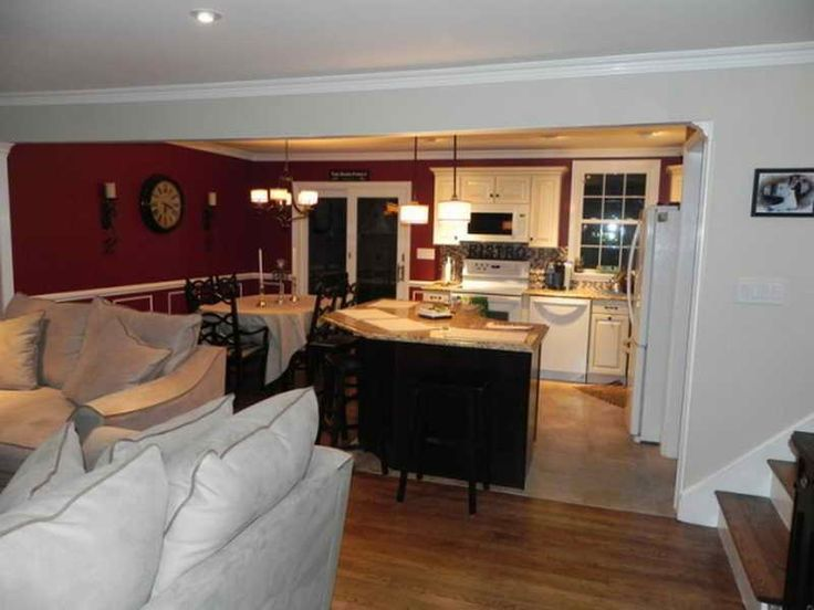 Kitchen And Dining Room Open Floor Plan Home Plans Ideas Picture Design With Large For