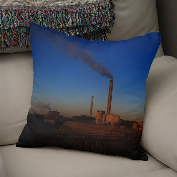 Discover «Factory 1», Numbered Edition Throw Pillow by Henri Hiltunen - From $27 - Curioos