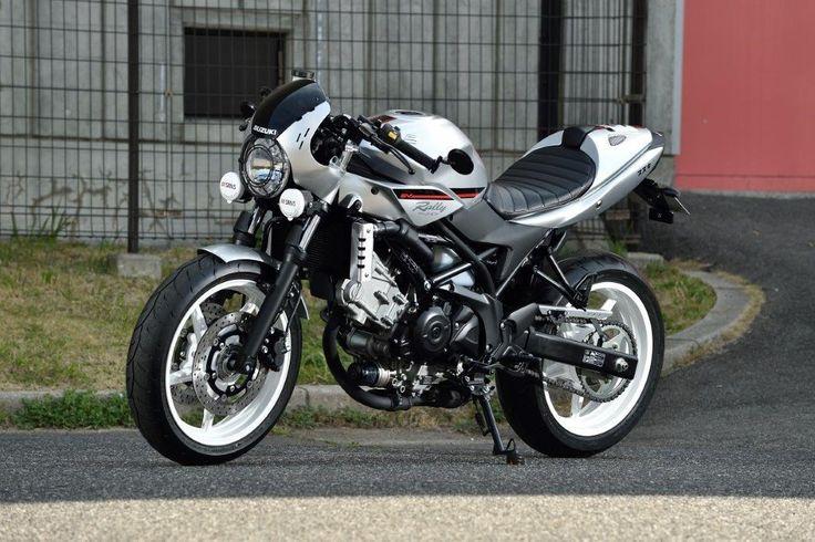 SV650 in old-school jasje - Actueel - Motor.nl