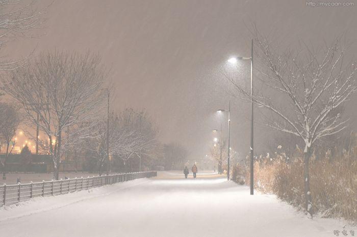 Morning carm snow  by Bang, Chulrin /Architect Group CAAN