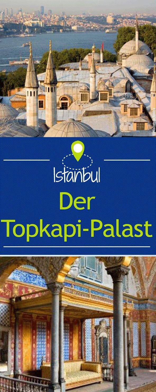 Eine Stein gewordene Zeltstadt inmitten grüner Gärten: Der siebzig Hektar große Topkapi-Palastes am Bosporus.