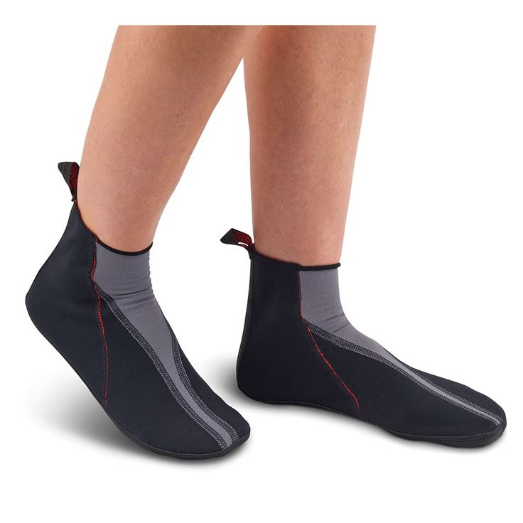 The Circulation Enhancing Thermal Slippers - Constructed from three therapeutic layers, these are the thermal slippers that help boost circulation and soothe foot pain, and they are only available from Hammacher Schlemmer.