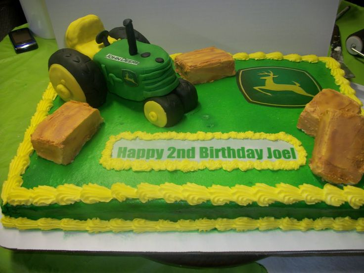 70 best Johndeere cakes images on Pinterest Birthday party