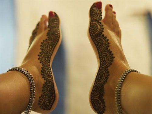 Mehndi Ankle Boots : Best bridal mehndi design images heena