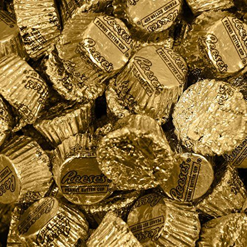 Bulk Chocolate HERSHEY'S REESE'S Cups (4 lb) - Gold WH Candy