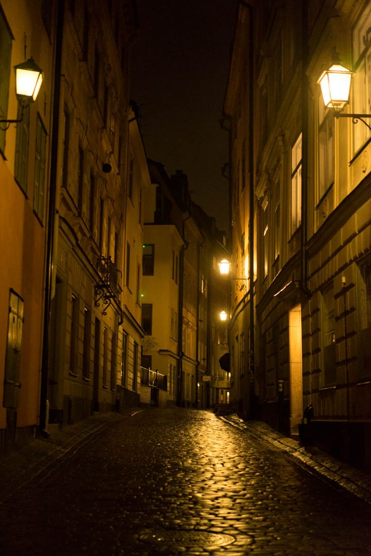 Gamla Stan by night 1